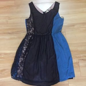 Mystery colorblock  sleeveless nwt dress